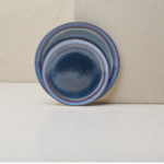 Ceramic Dinner Plate Dakara Navy