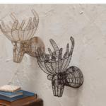 Mini Moose Head for Wall