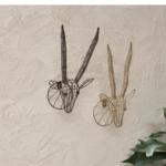 Mini Antelope Head for Wall Brass Colour Eko