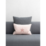 Oblong Cushion with Star