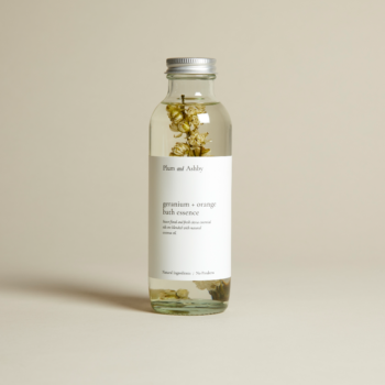 Geranium and Sweet Orange Bath Essence