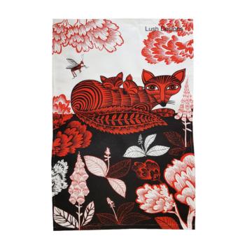 Tea Towel Fox Design