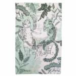 Tea Towel Cat Design