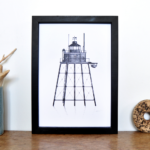 Lighthouse Print – Wyre Light