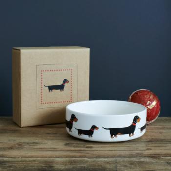 Dog Bowl Dachshund
