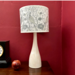 Table Lamp Game Birds Shade and Base