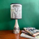 Table Lamp Linden Base Wild Boar Shade