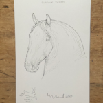 Horse Prints by Susan Leyland Powerful