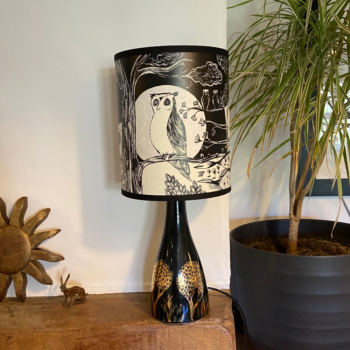 Table Lamp Linden Base Owl Shade