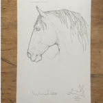 Horse Prints by Susan Leyland Handsome