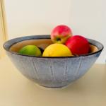 Ceramic Serving Bowl Dakara Mustard