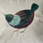 Tantalising Tui Cushion