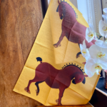 Handsome Horse Tea Towel