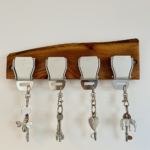 Key Holder – Aircraft Seat Belt Buckle (4 buckle)