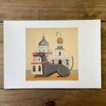 Dog and Dome Print