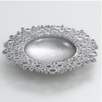 Pewter Circles Dish