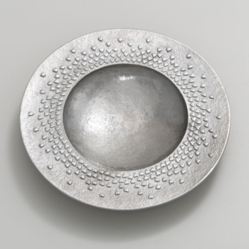 Pewter Floating Hearts Dish