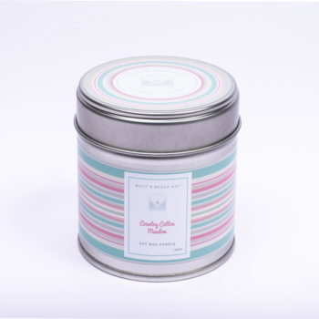 Country Cotton Meadow Classic Candle Tin
