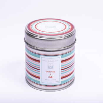 Sweet Orange and Chilli Classic Candle Tin