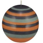Eco Ball Candle Marigold, Gunmetal and Opaline