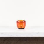 Glass Tealight in Almond Shell