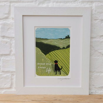 The Great Outdoors Dog Print