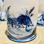 Beaker Vase Hedgehog Design