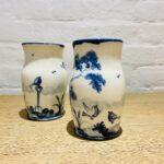 Small Bellied Vase Robin Design